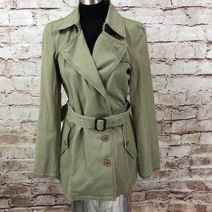 DKNY Sage Green trench Jacket